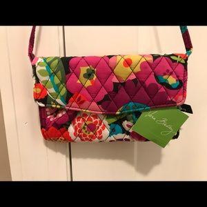 Vera Bradley Strap Wallet Va Va Voom